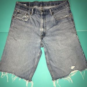 Levi's Jean Shorts Faded Vintage Vibes Cut-off 36
